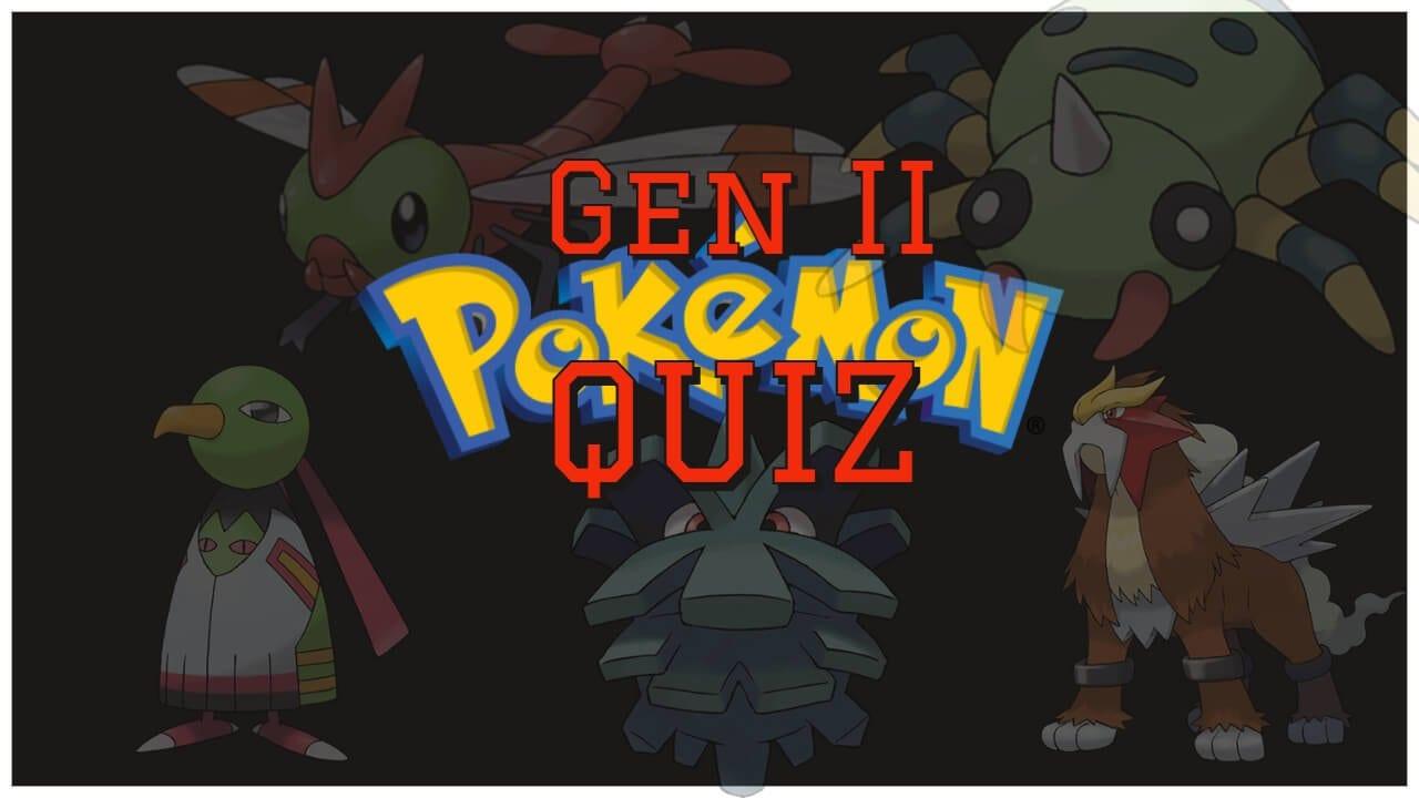 generation II pokemon quiz