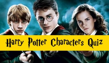 harry potter characters quiz