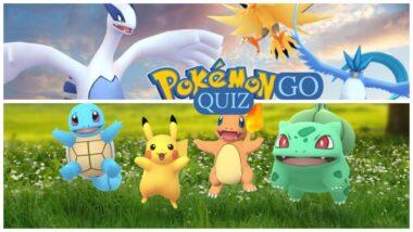 pokemon go quiz