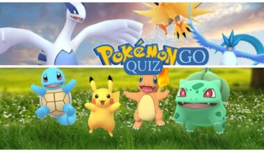 pokemon go quiz