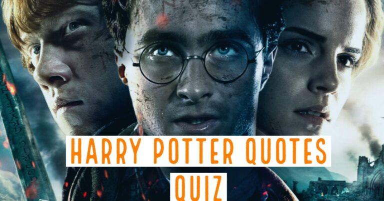 harry potter quotes quiz