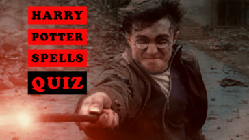 harry potter spells quiz