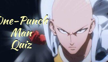 One Punch Man Quiz