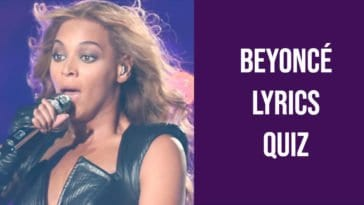 beyonce lyrics quiz