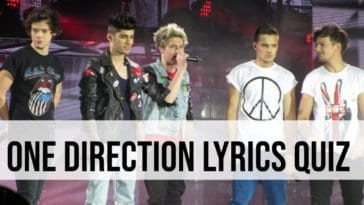 one direction lyrics quiz