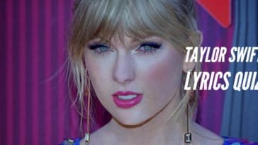 taylor swift lyrics quiz