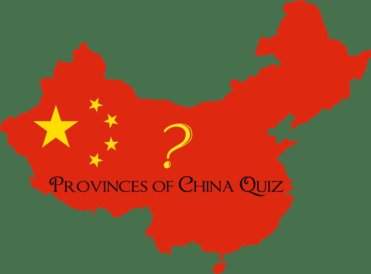china provinces map quiz