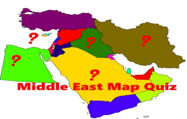 middle east map quiz