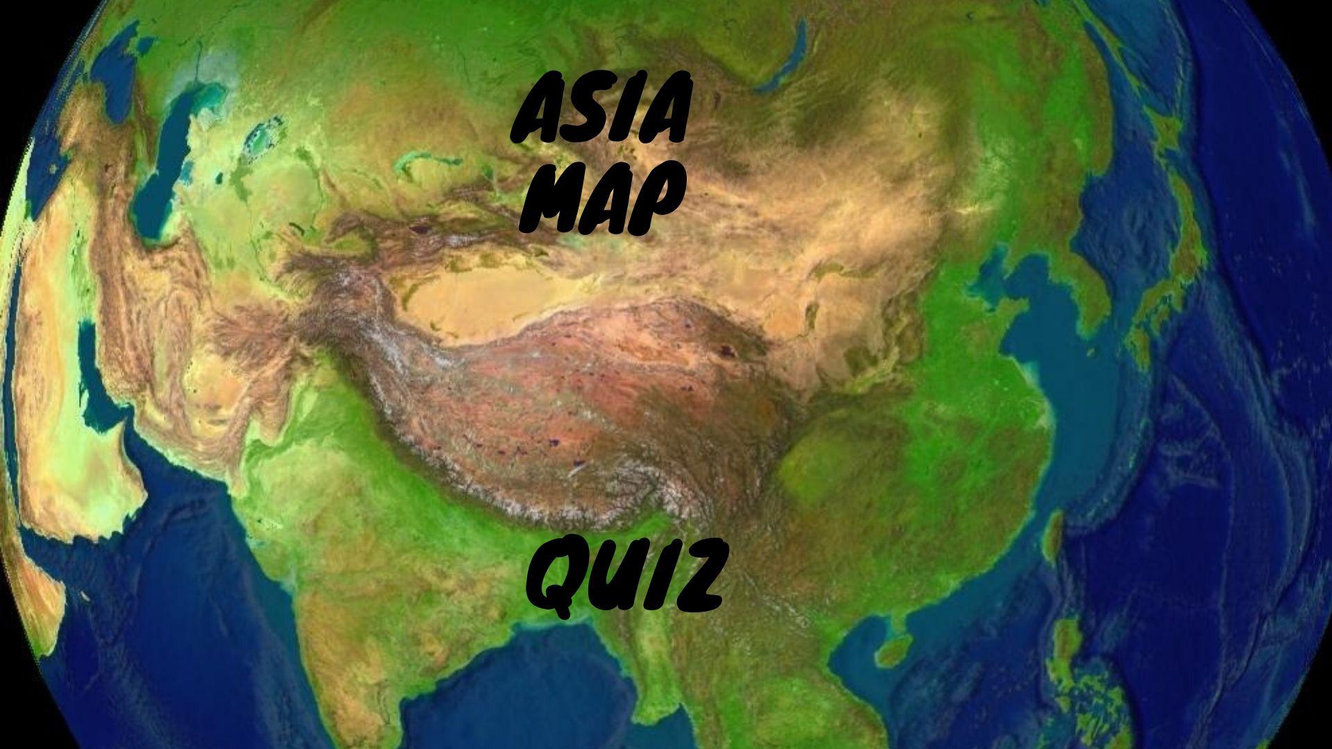 asia map quiz