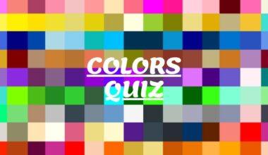 colors quiz