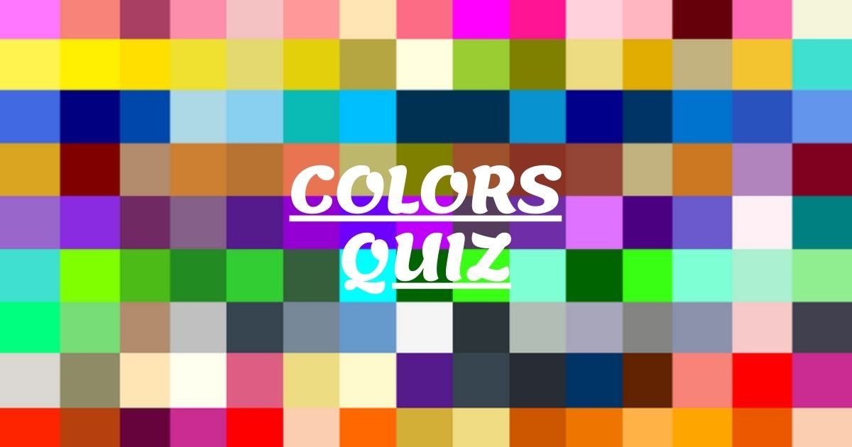 colors quiz