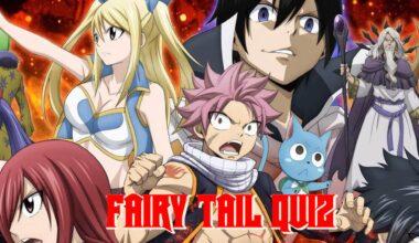 fairy tail quiz
