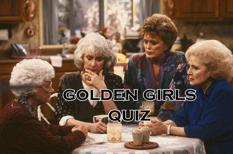 golden girls quiz