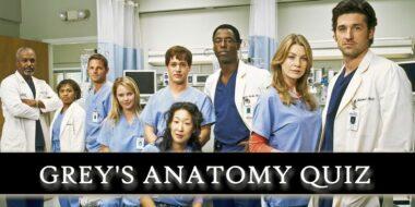 grey's anatomy quiz
