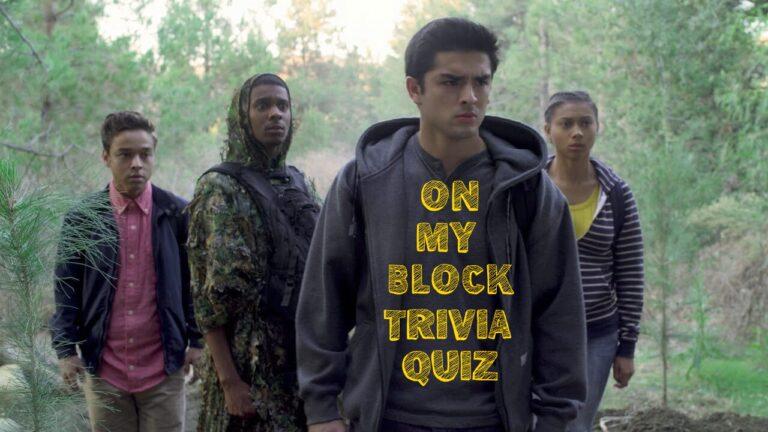 on my block quiz