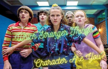 which stranger things character are you