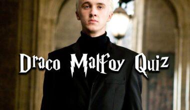 draco malfoy quiz
