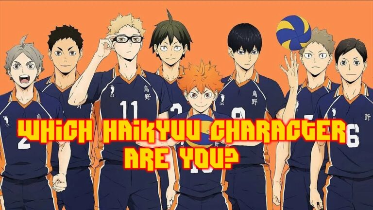 which haikyuu character are you