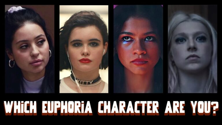 which euphoria character are you