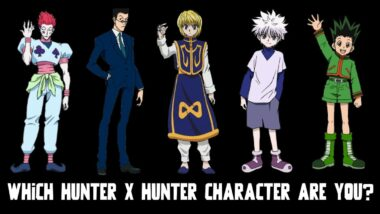 which hunter x hunter character are you