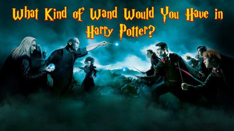 harry potter wand quiz