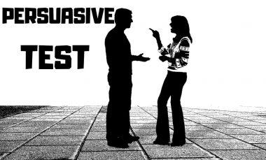 persuasive test