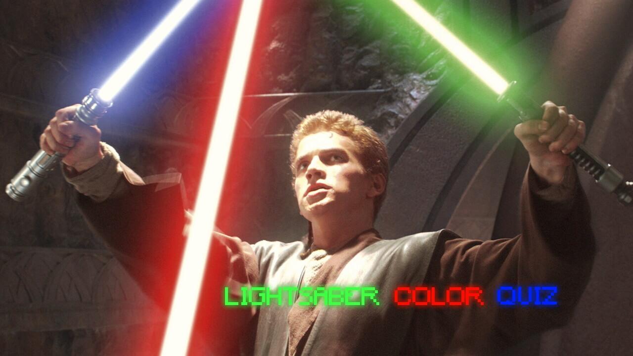 lightsaber color quiz